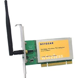 Netgear Wgt624 Wireless Firewall Router - WG311TNA - 802.11g Wireless PCI Adapter - Super G 108Mbps