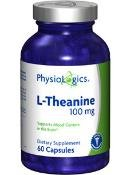 Physiologics - L-théanine 100 mg 60 caps