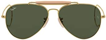 Ray-Ban Men's Rb3030 Outdoorsman I Aviator Sunglasses