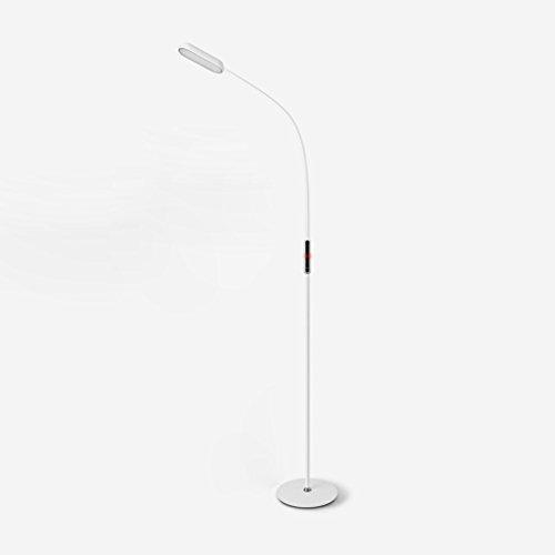 LED Eye Vertical Floor Lamp, Simple Living Room Bedroom Floor Lamp, Iron Free Rotation Floor Lamp, Drawing Light, L22W15.5H160cm (5-speed Adjustment) (Color : White) 5 Light Drawing Room