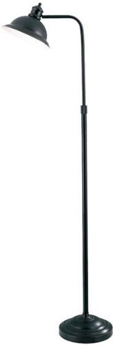 Lite Source LS-8550AGED/CP Minuteman Floor Lamp with Aged Copper Metal Shade, Aged Copper