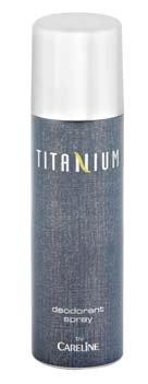 Titanium Deodorant By Careline - 12 Pack