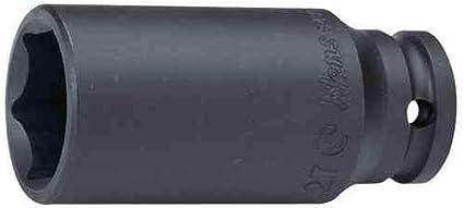 1//2 longue Douille /à chocs//impact 41 mm, 6-pans Hans
