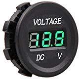 MICTUNING Automotive Replacement Voltmeter Gauges