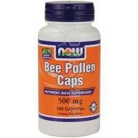NOW FOODS Crd Bee Pollen, 100 Count