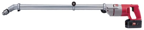 Milwaukee 48-06-2860 30-Inch 30 Degree Angle Drive Attachment for Milwaukee Drills 1001-1, 1007-1, 1101-1, 1107-6, 1201-1, and 1250-1 only (Milwaukee Extension)