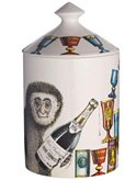 Fornasetti - Scented Candle with Scimmie - 300g by Fornasetti