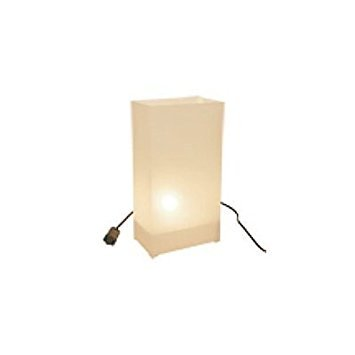 White Luminarias Electric Kit - pack of 10 by LB Inc. (Image #4)