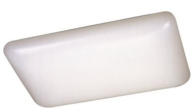 National Brand Alternative 673776 Cloud Style Wrap Around Ceiling Fixture Uses Four 34W T8 Type Fluorescent Lamps, 4', White Lens