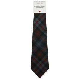Murray Of Atholl Tartan (Mens All Wool Tie Woven Scotland - Murray of Atholl Weathered Tartan)