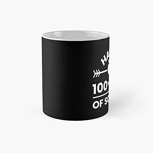 Happy 100th Day Of School Teacher Student Shirt Classic Mug