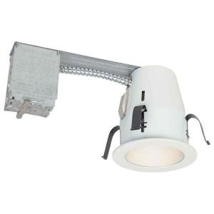 Commercial Electric 4 in. Non-IC Remodel Recessed Lighting Kit (K15)  sc 1 st  Amazon.com & Commercial Electric 4 in. Non-IC Remodel Recessed Lighting Kit ... azcodes.com
