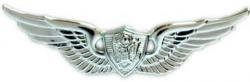 Army Aircrew Badge Mirrored Finish - - Badge Aviation