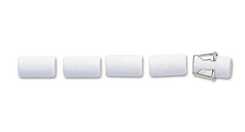 Pentel Refill Eraser For AL, AX and PD Series Pencils 5 Pcs/Tube, Box of 12 (PDE-1) by Pentel (Image #2)