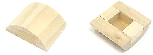 - Rousso's Reproductions Original Wood Adapters- to Fit Your New or Antique Knobs in Modern Doors
