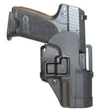 BlackHawk CQC SERPA Belt Holster Right Hand Black Ruger SR9 Belt Loop and Paddle 410541BK-R
