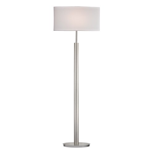 - Dimond Lighting D2550 Satin Nickel Floor Lamp, 19