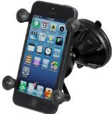RAM Mighty-Buddy(TM) Snap Link Suction Cup Mount with Universal X-Grip(TM) Cell Phone Holder