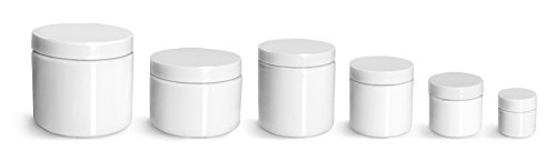 White 8 Ounce Jar - 9