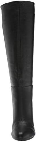 Aerosoles Femmes Hashtag Bottes Couleur Noir Black Leather Taille 41 EU / 9.5 Us