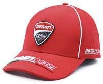 Moto Rider Shop Gorra Ducati Corse ((Racing Wear)) (Roja ...