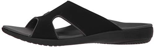 Spenco Men's Kholo Plus Slide Sandal, Carbon/Pewter, 14 Medium US by Spenco (Image #5)