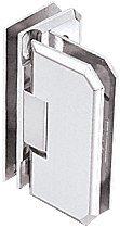 CRL Monaco 090 Series Chrome 90° Glass-to-Glass Hinge
