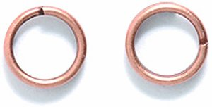 Shipwreck Beads Electroplated Brass Split Ring, 7mm, Metallic, Antique Copper, 14-Gram (Antique Copper Split Rings compare prices)