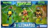 Teenage Mutant Ninja Turtles 3 pack EXCLUSIVE Leonardo ()