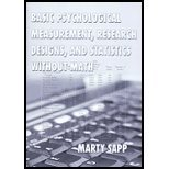 Read Online Basic Psychological Measurement Research (06) by Sapp, Marty [Paperback (2006)] PDF