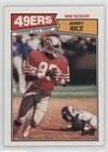 Jerry Rice (Football Card) 1987 Topps - [Base] #115