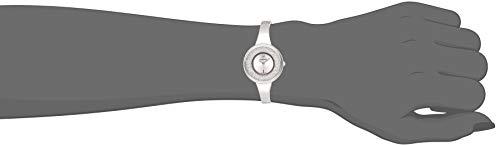 Swarovski Orologio Crystalline Pure, Bracciale di Metallo, Bianco, Acciaio Inossidabile 5