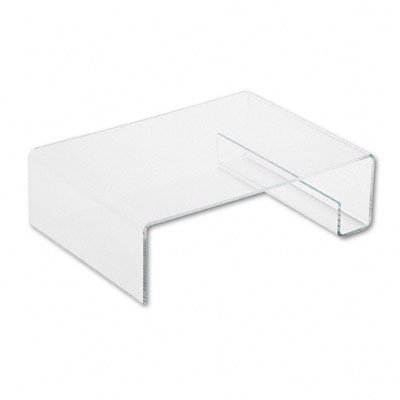 Safco Model - Safco Model Acrylic Printer Stand,Clear, 1 Count (2165)