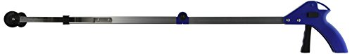 Folding Pickup Tool - Generic Folding Helping Hand Long Reach Pick Up Gripper Light Weight Aluminum Body