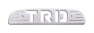 All Sales 74003P Polished Billet Aluminum Third Brake Light Cover - TRD (1999 Toyota Tacoma Trd)