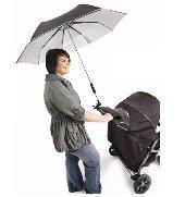 Mamas Buggy /& Jogger Farbe Schwarz Papas Regenschirm f/ür Kinderwagen