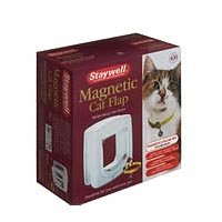 Staywell - Chatière de luxe magnétique 4 directions pour chat 400
