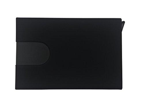 RFID Blocking Slim Wallet Aluminum Ridge Wallets For Men Front Pocket Wallet Automatic Pop Up Wallet