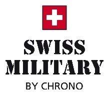 Schweizisk militär SM30192.03 kronograf 42 mm 10ATM