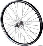 KHE Astral Front Wheel Gray Hub, Black Big V Rim, Black KHE/DT Spokes