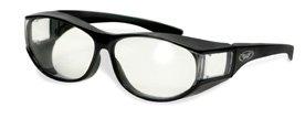 Escort clear Sunglasses that fit over glasses (Cglasses)