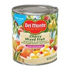 Del Monte 100 Calorie Mixed Fruit Cherry 8.25 Oz (Pack of 12)