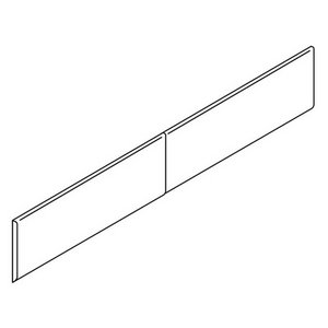 (HON Flipper Doors with Removable Lock, 33 by 16-Inch,)