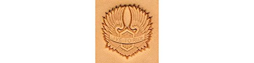 Tandy Leather Motorcycle Wings Craftool 3-D Stamp 8540-00