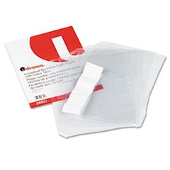 UNIVERSAL OFFICE PRODUCTS, Business Card 3-Ring Binder Pages, 20 2 x 3 1/2 Cards/Page, 5 Pages/Pack by Universal