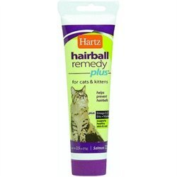 Hartz Hairball Remedy Plus Paste for Cats and Kittens 3 oz. (Pack of 3)