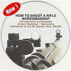 How to Shoot a Rifle Pistol Firearm Marksmanship M1Garand Sniper Manual Video CD