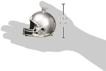 Old World Christmas Collegiate Football Helmet Ornament