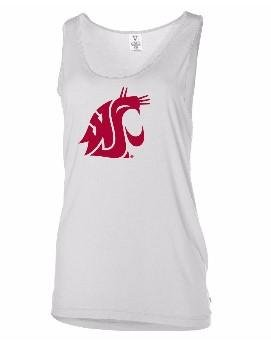 Official NCAA Washington State University Cougars WSU Tri Cities Oversized Modal Tank Top