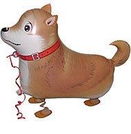 (BROWN DOG WALKING ANIMAL PET AIRWALKER BALLOON)